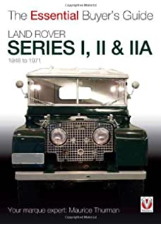Land rover shire library james taylor 9780747807261 amazon land rover series i ii iia the essential buyers fandeluxe Gallery