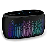 ویکالا · خرید  اصل اورجینال · خرید از آمازون · SOAIY S52 Smart Touch 11 Optional LED Light Modes Bluetooth Speaker, 10W Portable Wireless Speaker, Super Bass, 2000mAh Long Battery Life, Support Micro-SD Card and Handsfree Calling (Black) wekala · ویکالا