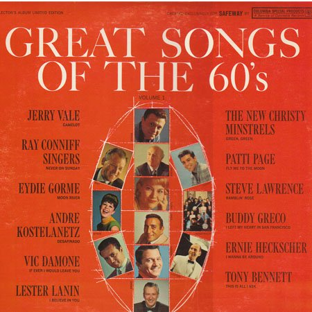 Ray Conniff - Great Love Songs Of The 60