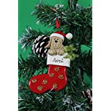 Personalized Christmas Tree Decoration Ornament Favorite Dog Stocking -Get your desired names on the items- A perfect Christmas gift by Frame Company
