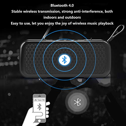 Household appliances Bluetooth Audio FM Radio, Mini Wireless Outdoor Portable, Support TF Extension Support U Disk Expansion AUX Input AOYS by Household appliances (Image #5)