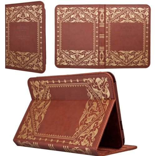 KHOMO Leather Amazon Kindle inches
