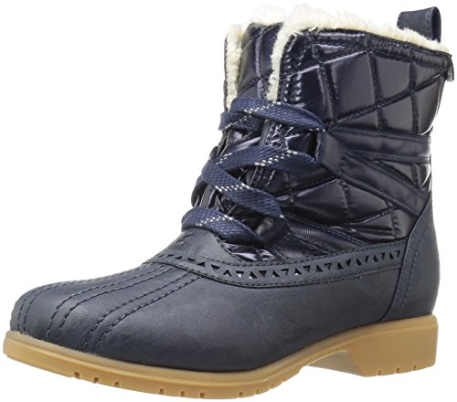 Keds Women's Snowday Bootie Snow Boot, Navy, 8 M US by Keds