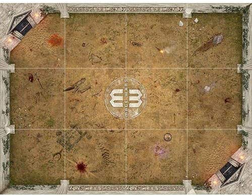 Mage Wars Arena Salenia Playmat Publisher Services Inc PSI MWPM01AWG