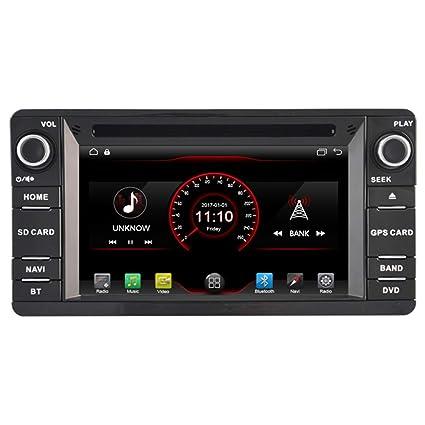 autosion en Dash Android 6.2 unidad principal de radio de coche reproductor de DVD estéreo de