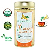 Organic Moringa Weight Loss Tea (Loose Leaf Tea). Herbal Tea with Weight Loss properties. USDA Certified Organic. Rich in Antioxidants and Daily Needed Essential Nutrients and Weight Loss Ingredients. No Artificial Flavors and Preservatives. All Natural!