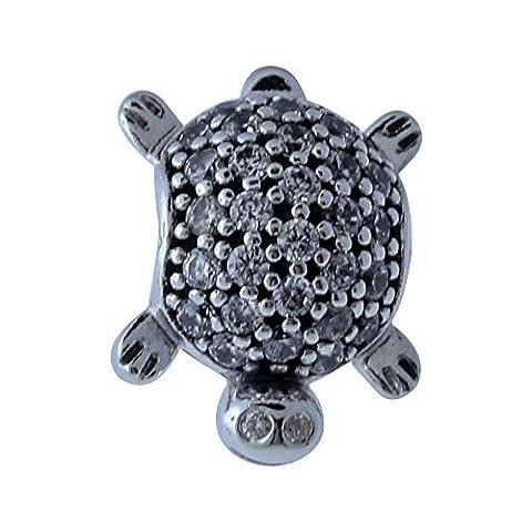 PANDORA Charm Sea Turtle 791538CZ