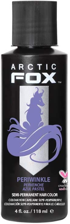 Boinca, Inc. ARCTIC FOX 100% VEGAN 4 OZ PERIWINKLE SEMI PERMANENTE TINTE COLOR 4 oz Bígaro