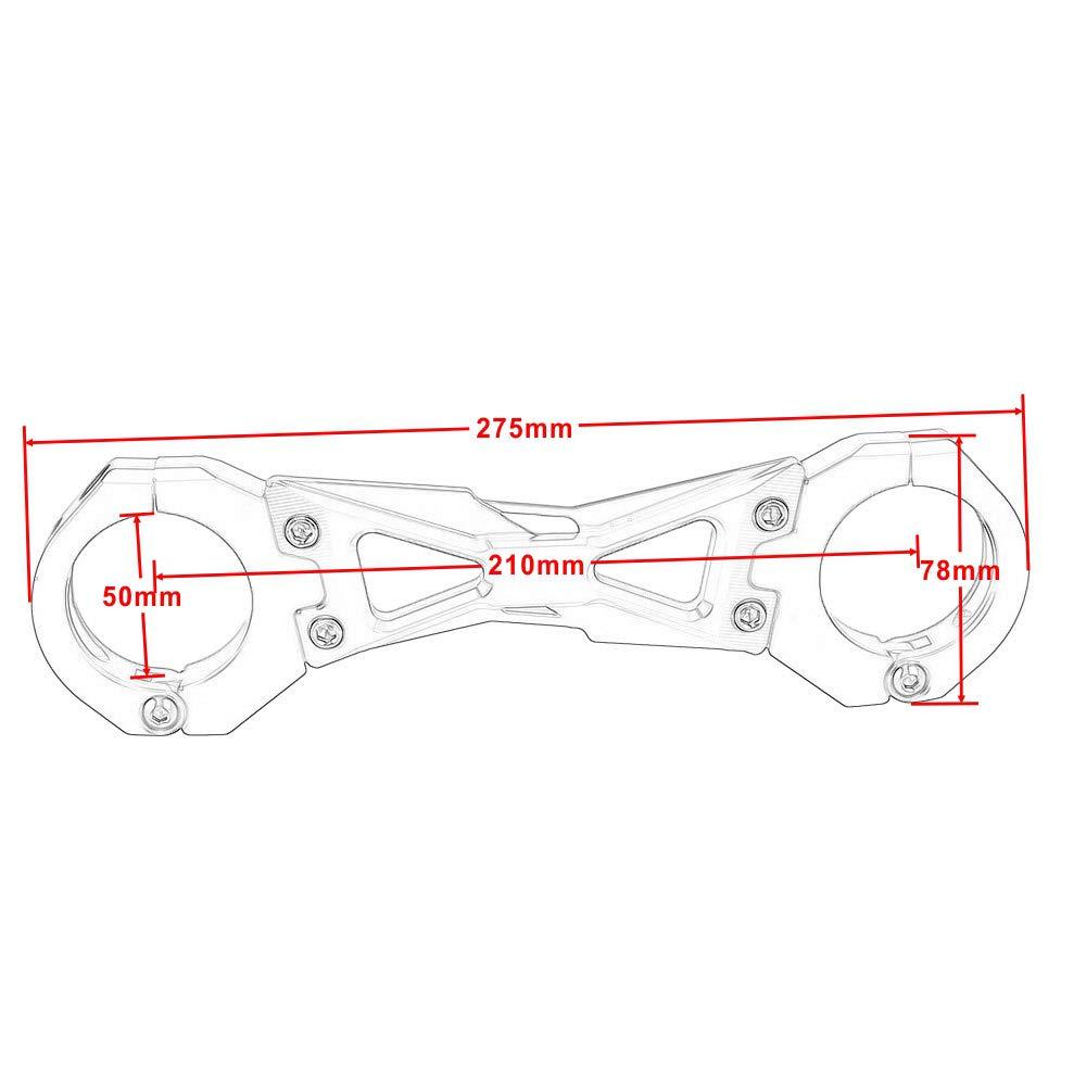 Or Entretoise Choc d/équilibre de Moto en Aluminium CNC Stabilisateur de Fourche Avant Support de Fixation de Fourche pour Le Kawasaki Z900 2017