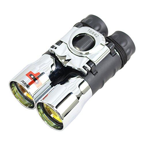 16x42 Ruby Coated Lens Binocular Chrome Color by Lastworld