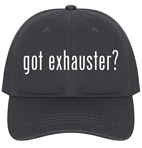 The Town Butler got Exhauster? - A Nice Comfortable Adjustable Dad Hat Cap, Dark Grey
