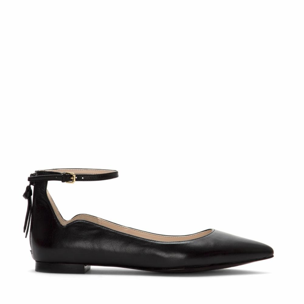Cole Haan Womens Millicent Closed Toe Casual Slide Sandals B01M5BCGK4 5.5 B(M) US|Black Leather