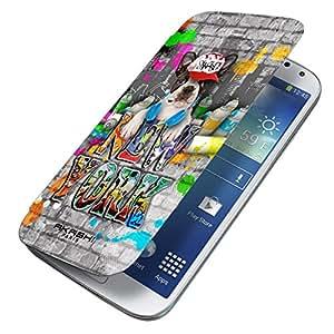 Akashi caso protector para Samsung Galaxy Tendencia Lite, Tema: Nueva York, Perro