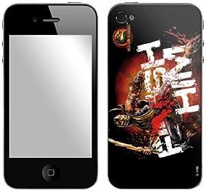 Zing Revolution Mortal Kombat Premium Vinyl Adhesive Skin for iPhone 4/4S, Finish Him (MS-MKBT20133)