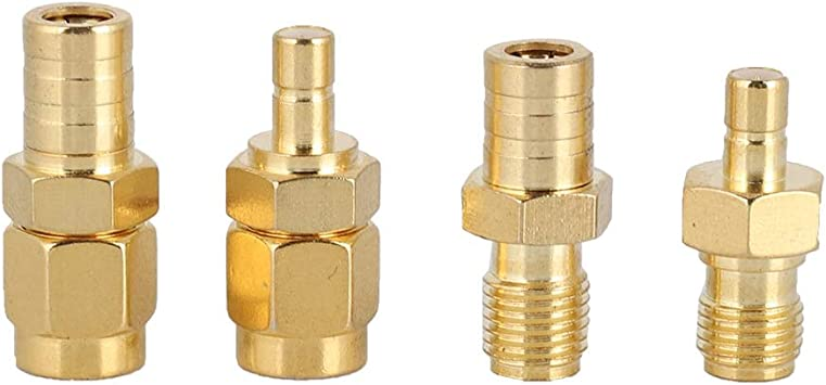 Bewinner 4 Typen Rf Adapter Sma Adapter Auf Smb Stecker Elektronik
