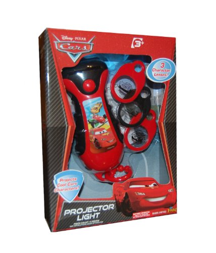 Disney Pixar Cars Projector Light - Projects Cool Cars Characters!