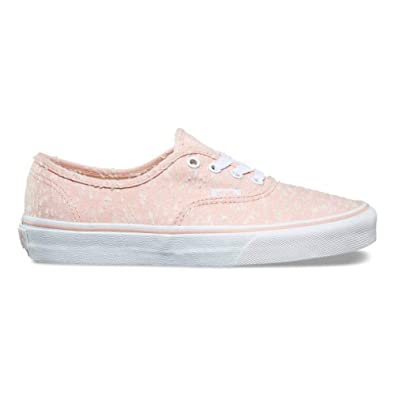 1f9245f7e71c Vans Authentic Mens 8   Womens Size 9.5 Marled Canvas Evening Sand Pink  True White Skateboarding