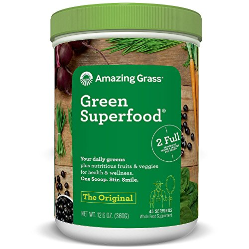 Amazing Grass Green Superfood, Original, 12.6 Ounce 51SrCvllUIL