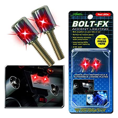 Street FX 1043557 ElectroPods White Bolt FX Light