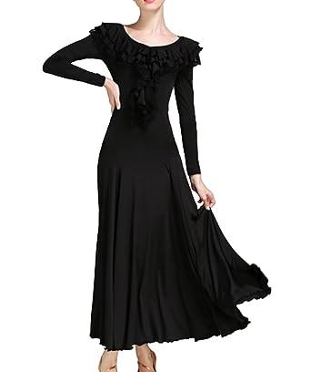7619bd9a6 CHAGME Waltz Dance Skirt Dress Modern Dance Dress National Standard Dress  Cha Cha Skirts Ballroom Skirt
