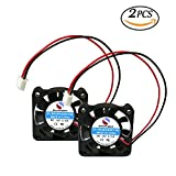 thermal acoustic insulation - SoundOriginal 2pcs 4010 Brushless DC Cooling Fan 12V 0.15A 40x40x10mm Speed 6800 RPM Fans for computer case 3d Printer Humidifier and Other Small Appliances Series Repair Replacement