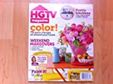 HGTV Magazine June/July 2012, weekend makeovers