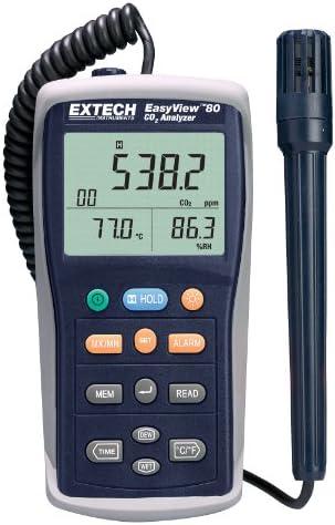 Extech EA80 مشاهده آسان متر / کیفیت سنج هوا با کیفیت داخلی