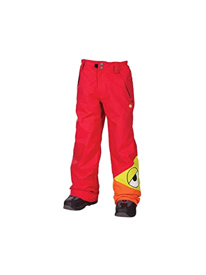 Amazon 686 Snaggleface Snowboard Pants Youth Size Medium Red SnaggleTooth Snow Sports Outdoors