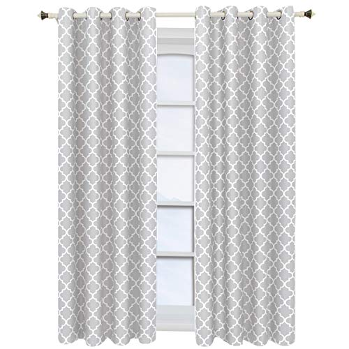 Royal Tradition Meridian, 52-Inch Wide x 63-Inch Long, Set of 2, Thermal Insulated Room Darkening Curtains, - Pair Polyester Curtains Insulated Thermal
