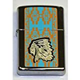 Zippo Indian Chief Lighter Custom Made by Zippo