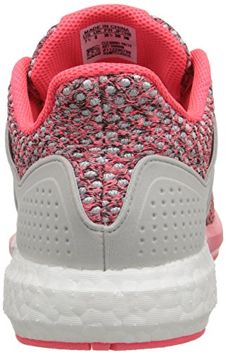 Adidas Performance Solar Boost Running Shoe, Pink/silver/white, 5 M Us Grey/Silver/Pink