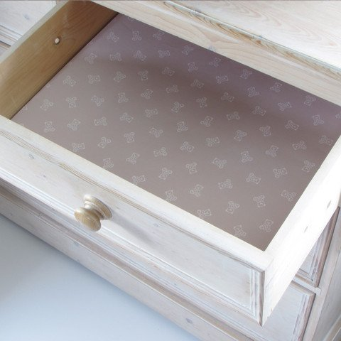 Scented Drawer & Shelf Liners - English Lavender Baby Brown Fragranced Drawer and Shelf Liners By Best British Gifts by Master Herbalist
