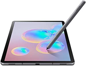 "Samsung Galaxy Tab S6 SM-T865 LTE Factory Unlocked 10.5"" International Version (No Warranty in The USA) (6GB RAM / 128GB ROM, Mountain Gray)"