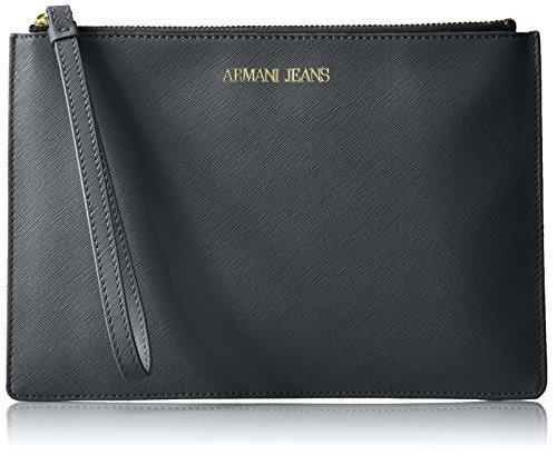 Clutch Crossbody Saffiano Jeans Navy Armani 1x4ECtwE