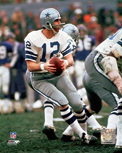Dallas Cowboys Roger Staubach In Action 8x10 Photo, Picture. (Staubach Photograph)