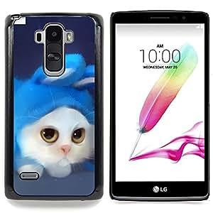 - Funny Cute Cat/ Duro Snap en el tel????fono celular de la cubierta - Cao - For LG G Stylo / LG LS770 / LG G4 Stylus