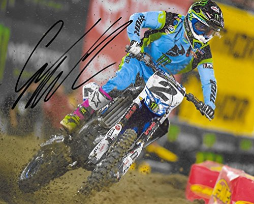 Cooper Signed Photo - Cooper Webb, Supercross, Motocross, Freestyle Motocross, Signed, Autographed, 8X10 Photo, a COA with the Proof Photo of Cooper Signing Will Be Included\..