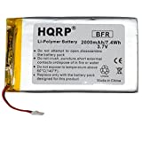 """HQRP Battery Works with RCA Voyager II 7"""" Tablet"""