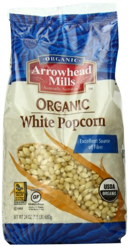 Arrowhead Mills Organic Yellow Popcorn, 28 Ounce (Pack of 6)