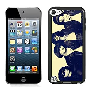 Customized Design Phone Case For iPod Touch 5 ramones Cell Phone Cover Case for Ipod Touch 5th Generation Black