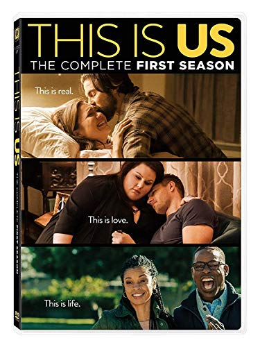 This Is Us: The Complete One Season 1 (DVD 2017 5-disc Box Set ) (All Of Us Complete Series)
