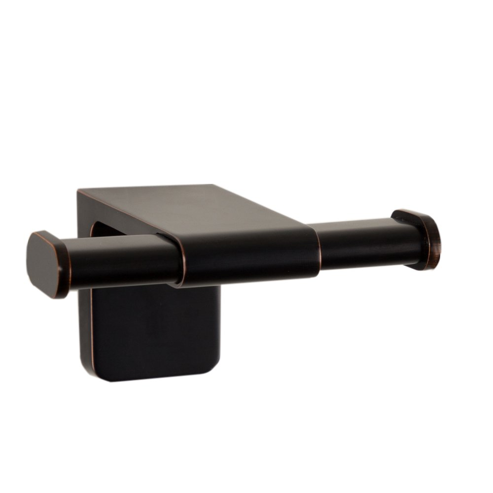 Maykke Dash Wall Mount Double Towel Hook | Bathroom, Lavatory & Kitchen Towel Holder | Solid Brass Robe, Coat, or Clothes Hanger for Bedroom, Entryway | 3 Colors | Oil-Rubbed Bronze DLA1010203 by Maykke