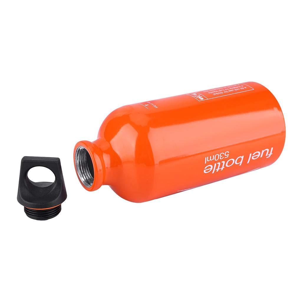 VGEBY1 Kraftstoffflasche 530 ML Aluminium Herd Gas Tank Benzin Flasche /Öl Vorratsbeh/älter f/ür Outdoor Camping Wandern