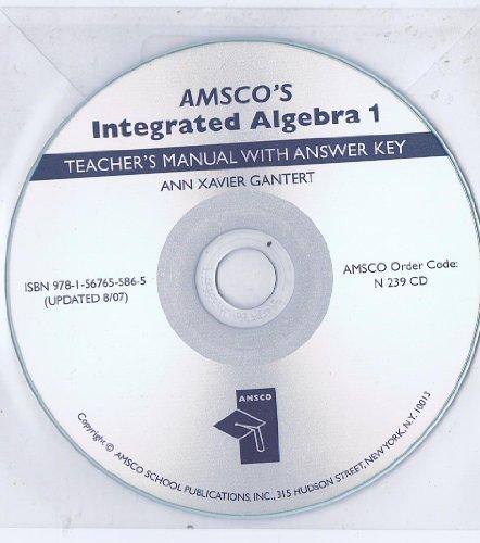 amsco's integrated algebra 1