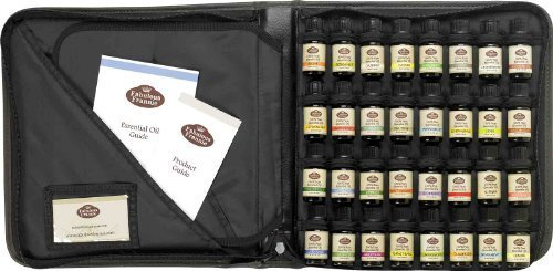 AROMATHERAPY SET in Carrying Case 32/10ml 100% Pure Essential Oils by Fabulous Frannie