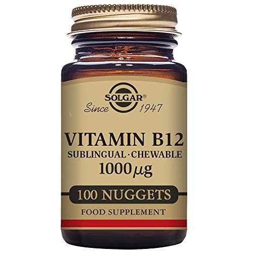 Vitamin B12 Sublingual - Chewable 1000 µg Nuggets - Pack of 100