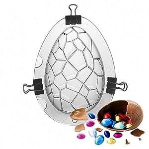 SEEGOU Molde para Pasteles de Huevo de Pascua en 3D, Forma ...