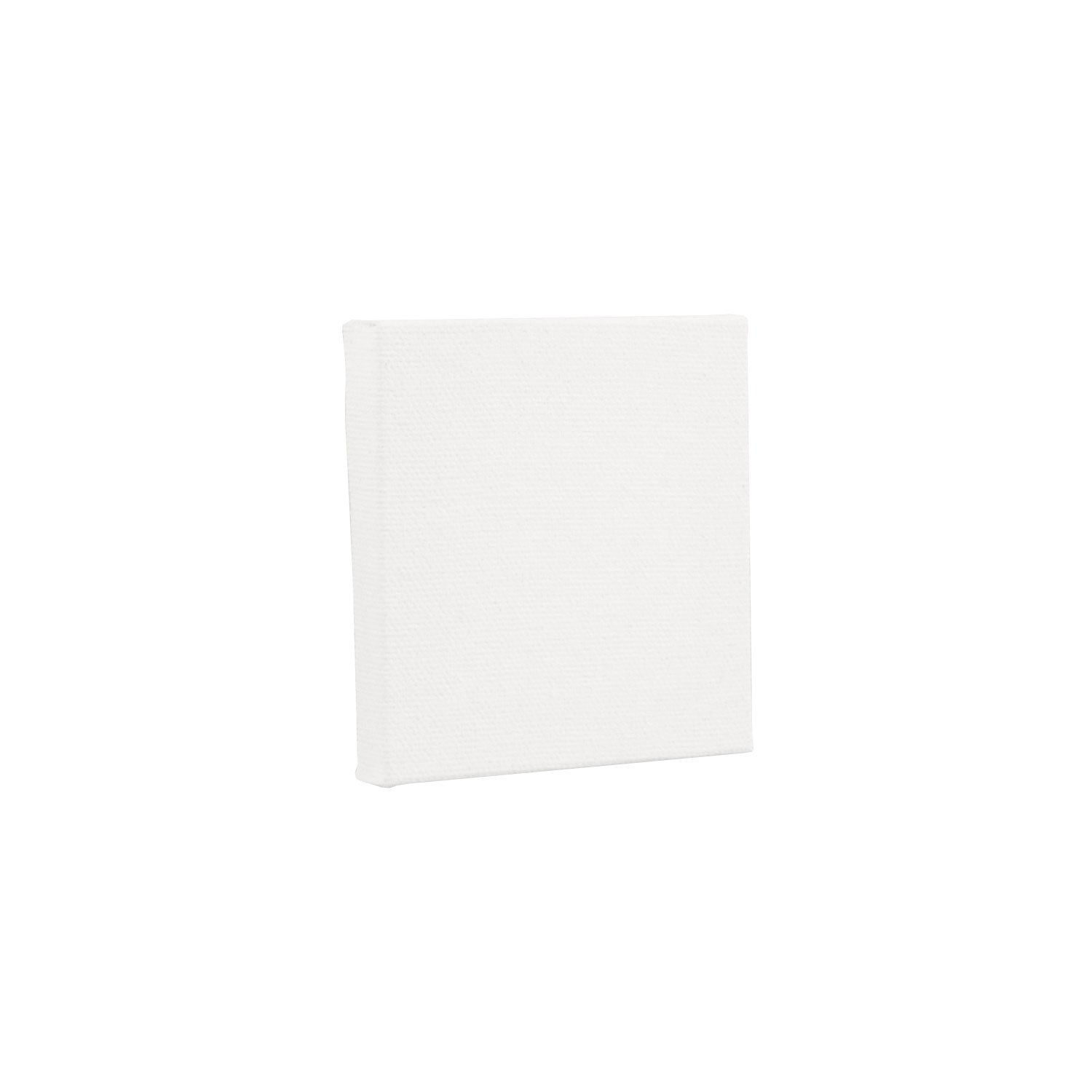 US Art Supply 3 x 3 Mini Professional Primed Stretched Canvas 1-Pack of 12-Mini Canvases