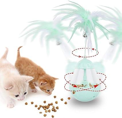 Juguete Gato Pelota Juguete Interactivo para Gato , 3 en 1 Juguete ...
