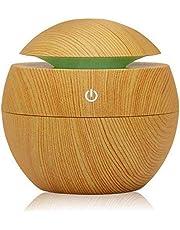 Ultrasonic Air Humidifier freshener Aromatherapy works via USB with 7 Color LED Lights - Ball Shape